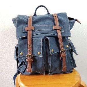Denim travel sack
